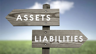 DIVISION OF ASSETS AND LIABILITIES IN DIVORCE